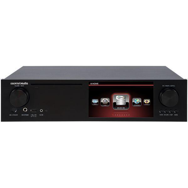 ★cocktail Audio X35 ブラック アンプ内蔵 マルチメディアプレーヤー ネットワーク オーディオプレーヤー ★新品送料込_画像1