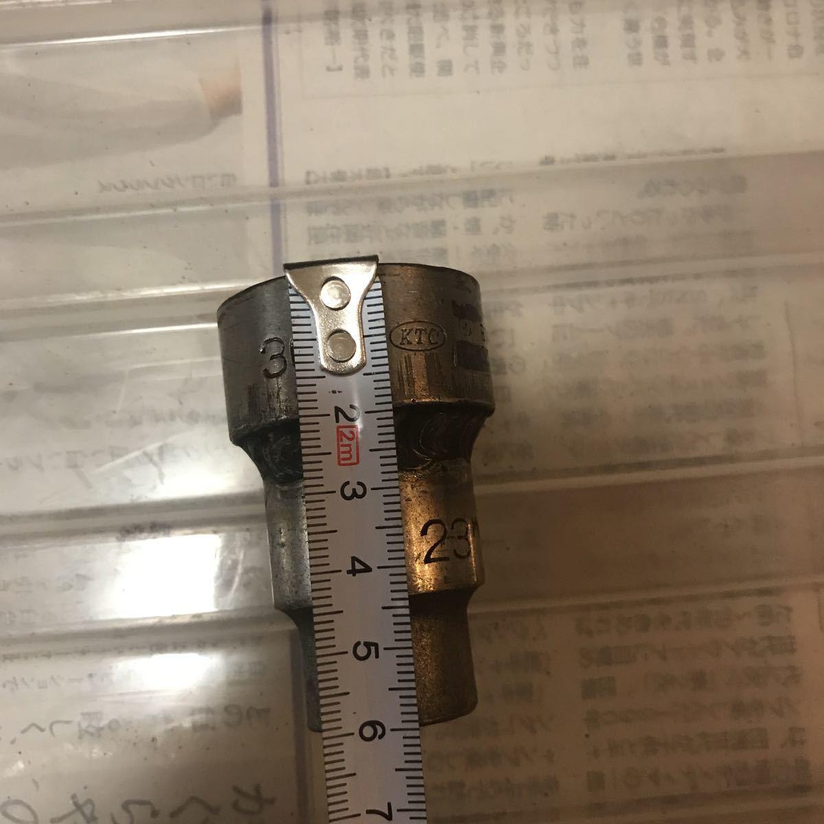 KTC ソケット30mm 差込口1/2 加工品_画像9