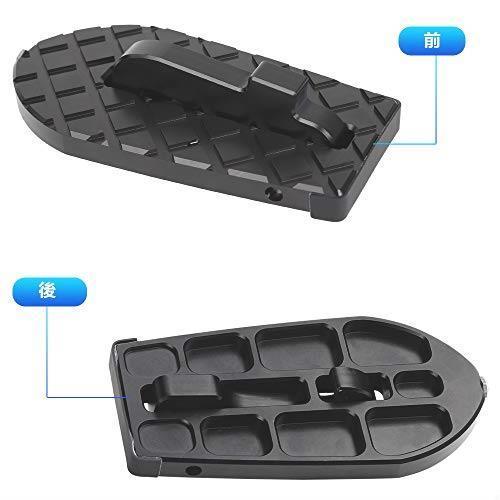 送料無料 ANTC車用 ドアステップ 折り畳み式クライミング ペダル 補助ステップ 安全ハンマー機能付き 取付け簡単 滑り止め 多機能_画像4