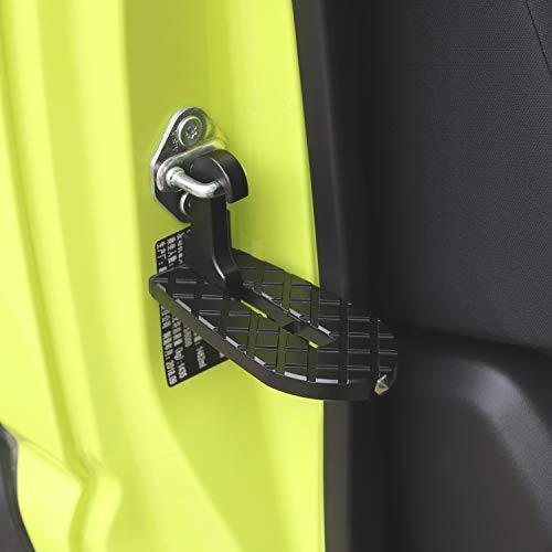 送料無料 ANTC車用 ドアステップ 折り畳み式クライミング ペダル 補助ステップ 安全ハンマー機能付き 取付け簡単 滑り止め 多機能_画像6