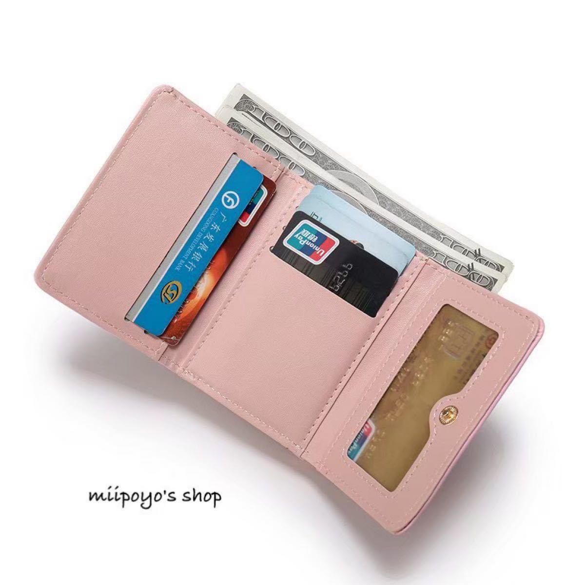 コインケース ミニ財布 財布 コンパクト ウォレット ハート がま口