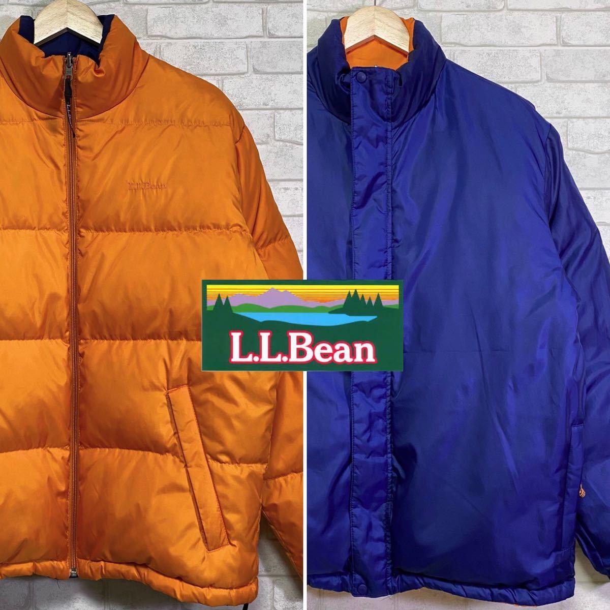 L.L.BEAN エルエルビーン ダウンジャケット リバーシブル/Sサイズ