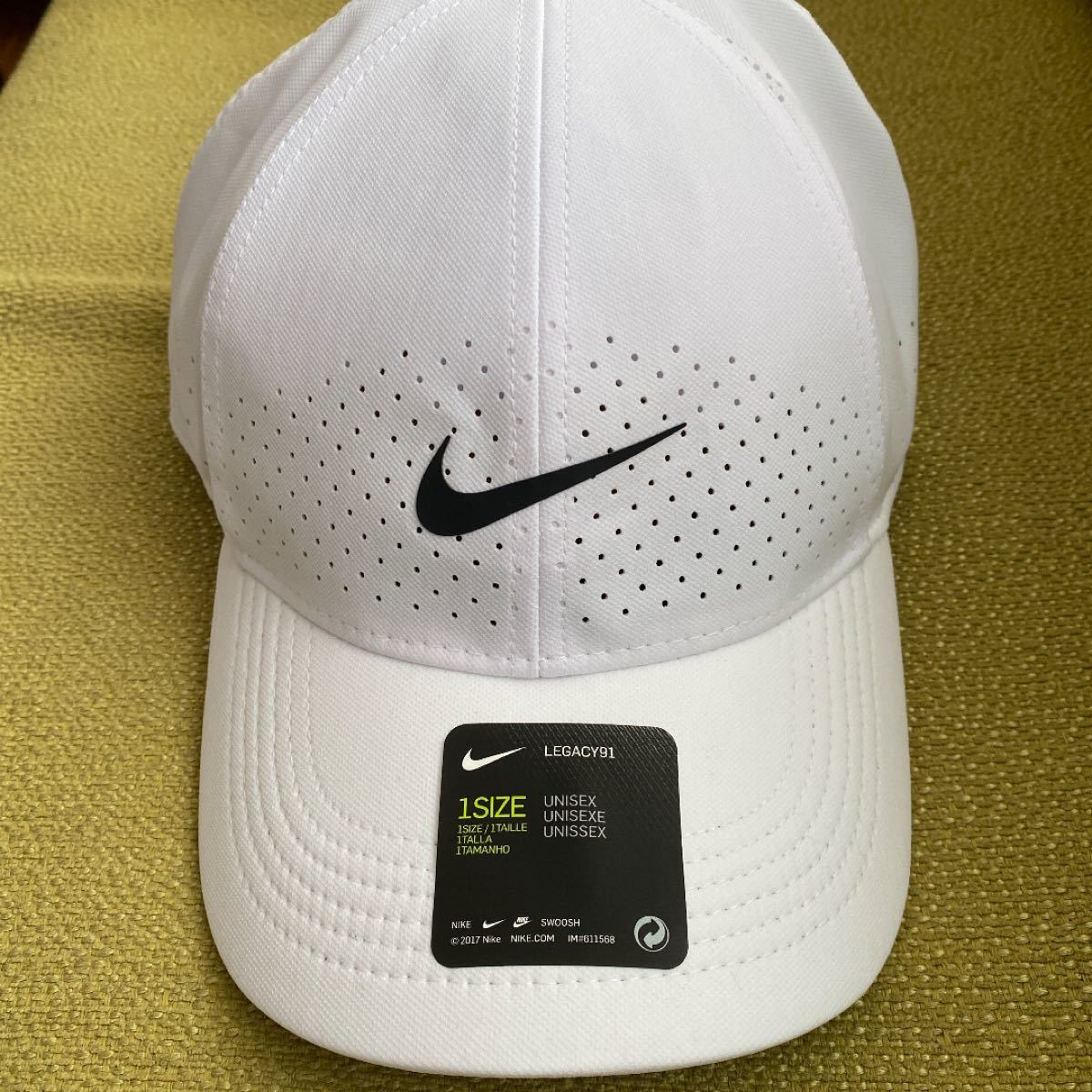 NIKE DRY FIT キャップ 帽子 ユニセックス ランニング トレーニング