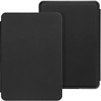 B-Black WALNEW AMAZON 2018 Kindle Paperwhite第十世代カバー ケース 2018キンドル_画像1