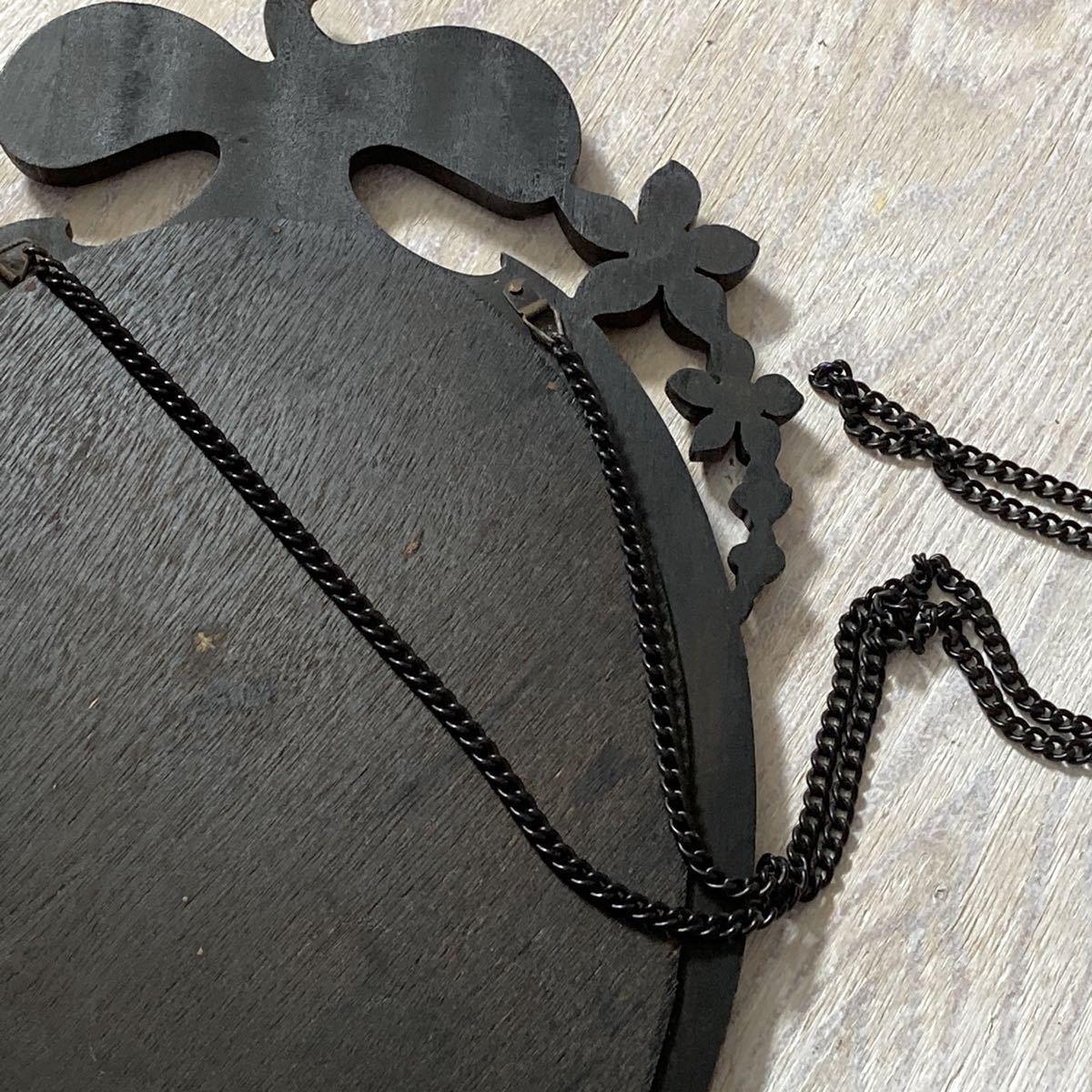 レトロ ウォールミラー ヴィンテージ 店舗什器 壁掛け鏡 ビンテージ 昭和 ビンテージ ディスプレイ 古民家_画像5