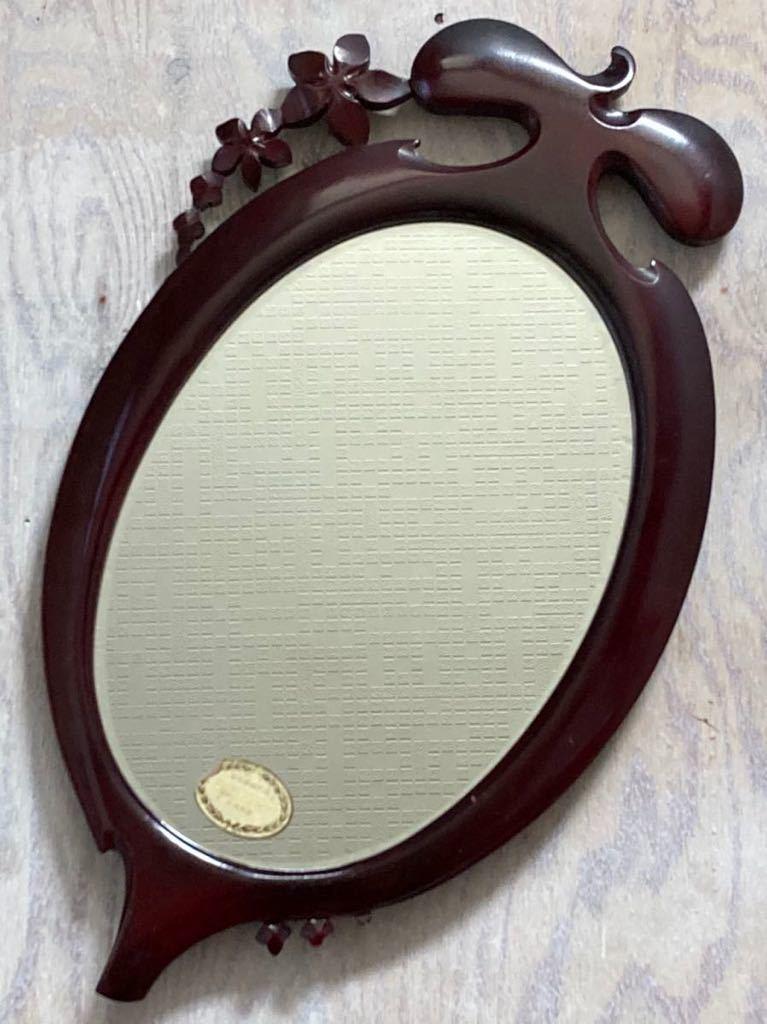 レトロ ウォールミラー ヴィンテージ 店舗什器 壁掛け鏡 ビンテージ 昭和 ビンテージ ディスプレイ 古民家_画像9