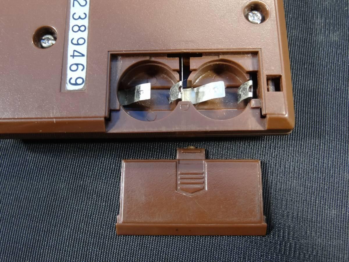 K5062★GAME&WATCH ゲームウォッチ MANHOLE マンホール MH-06 任天堂 1981年 当時物★_画像8
