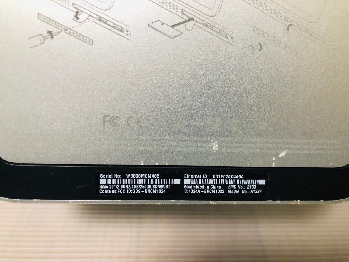 Apple:iMac 、モニター 、A1224 、ジャンク!_画像3
