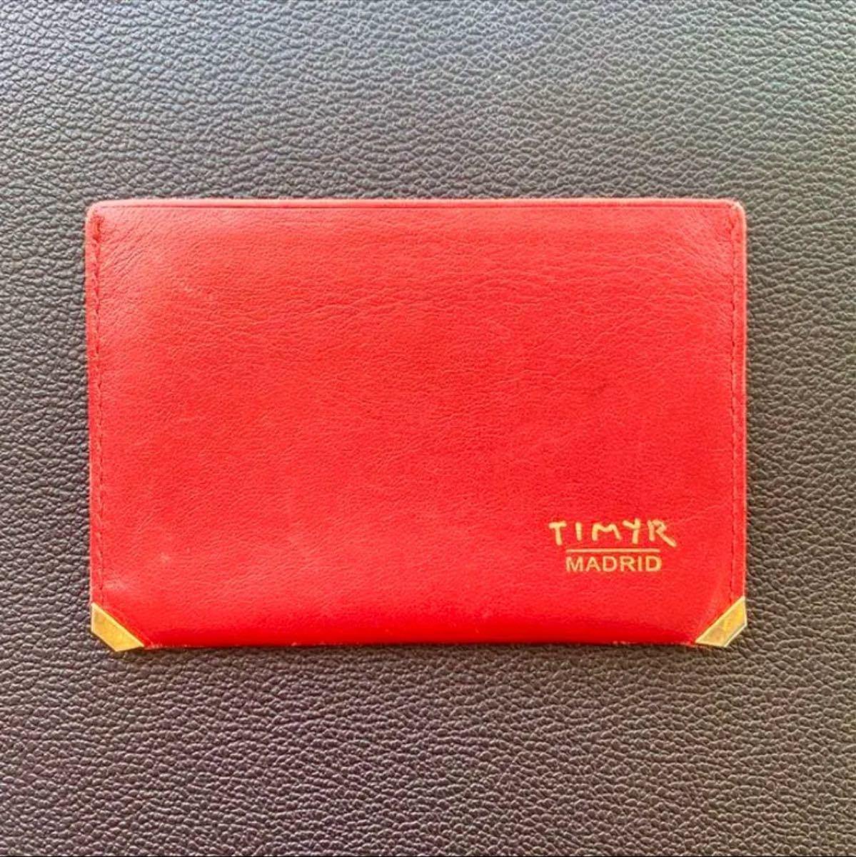 TIMYR MADRID 名刺入れ/定期入れ/カードケース