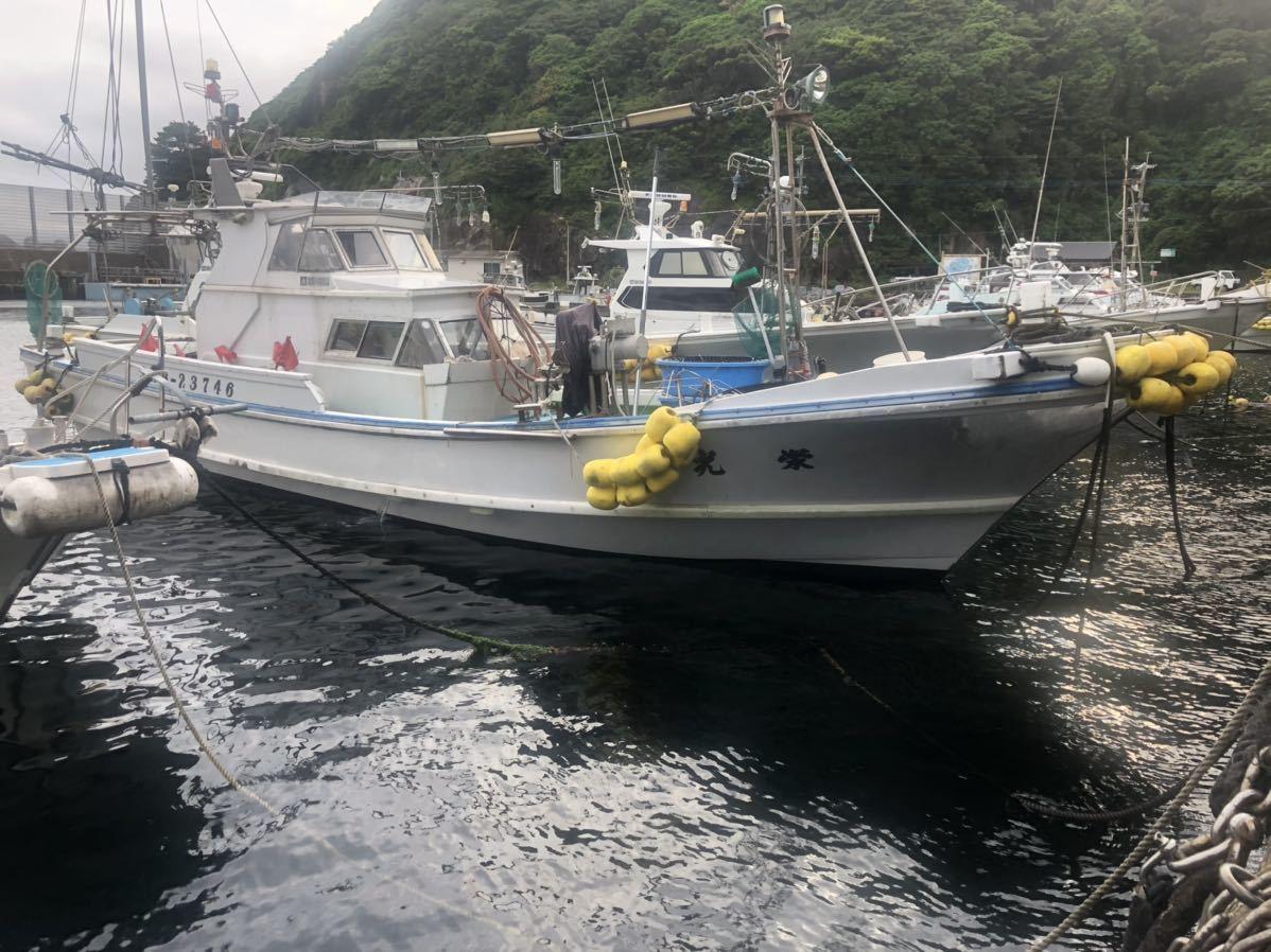 「漁船 中古 ボート 釣り船 レジャー 船体 漁業 佐賀県 写真追加しました 早期終了・取り消しあり」の画像1