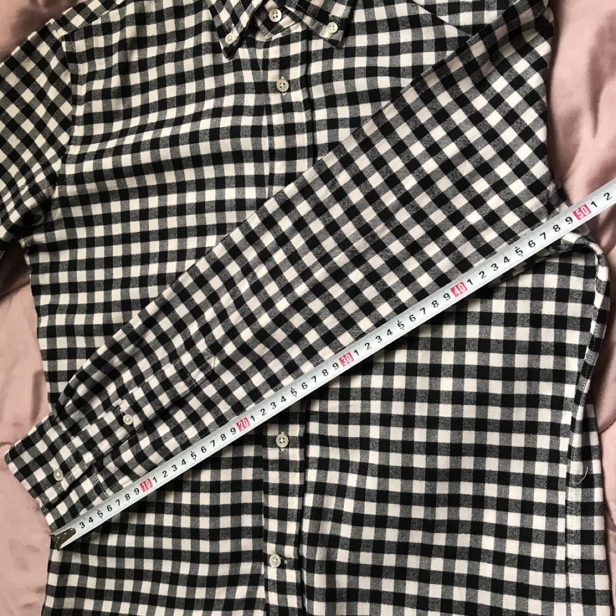 長袖シャツ ギンガムチェックシャツ ネルシャツ