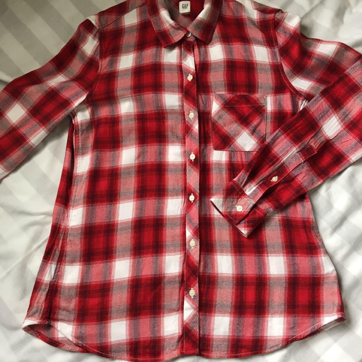 チェックシャツ ネルシャツ 長袖シャツ