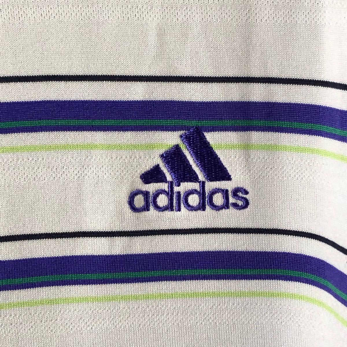 新品 アディダス adidas ポロシャツ Oサイズ