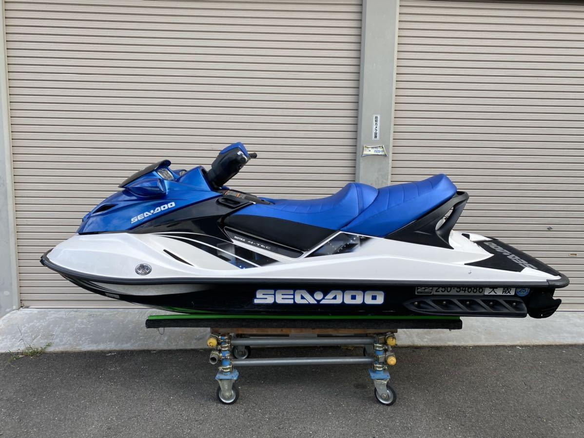 「【大阪発】WING特選中古艇SEADOO GTX155 2009年モデル 88h 値下げ交渉OK!!!」の画像2