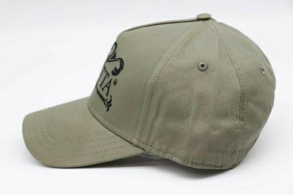 限定1レア色新品 イタリア ベレッタ Beretta Since 1526 Cap キャップ 帽子 カーキ 刺繍ブラック 管理ska_画像3