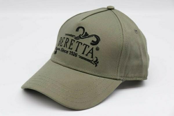 限定1レア色新品 イタリア ベレッタ Beretta Since 1526 Cap キャップ 帽子 カーキ 刺繍ブラック 管理ska_画像1