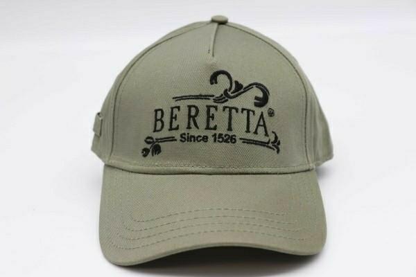 限定1レア色新品 イタリア ベレッタ Beretta Since 1526 Cap キャップ 帽子 カーキ 刺繍ブラック 管理ska_画像2
