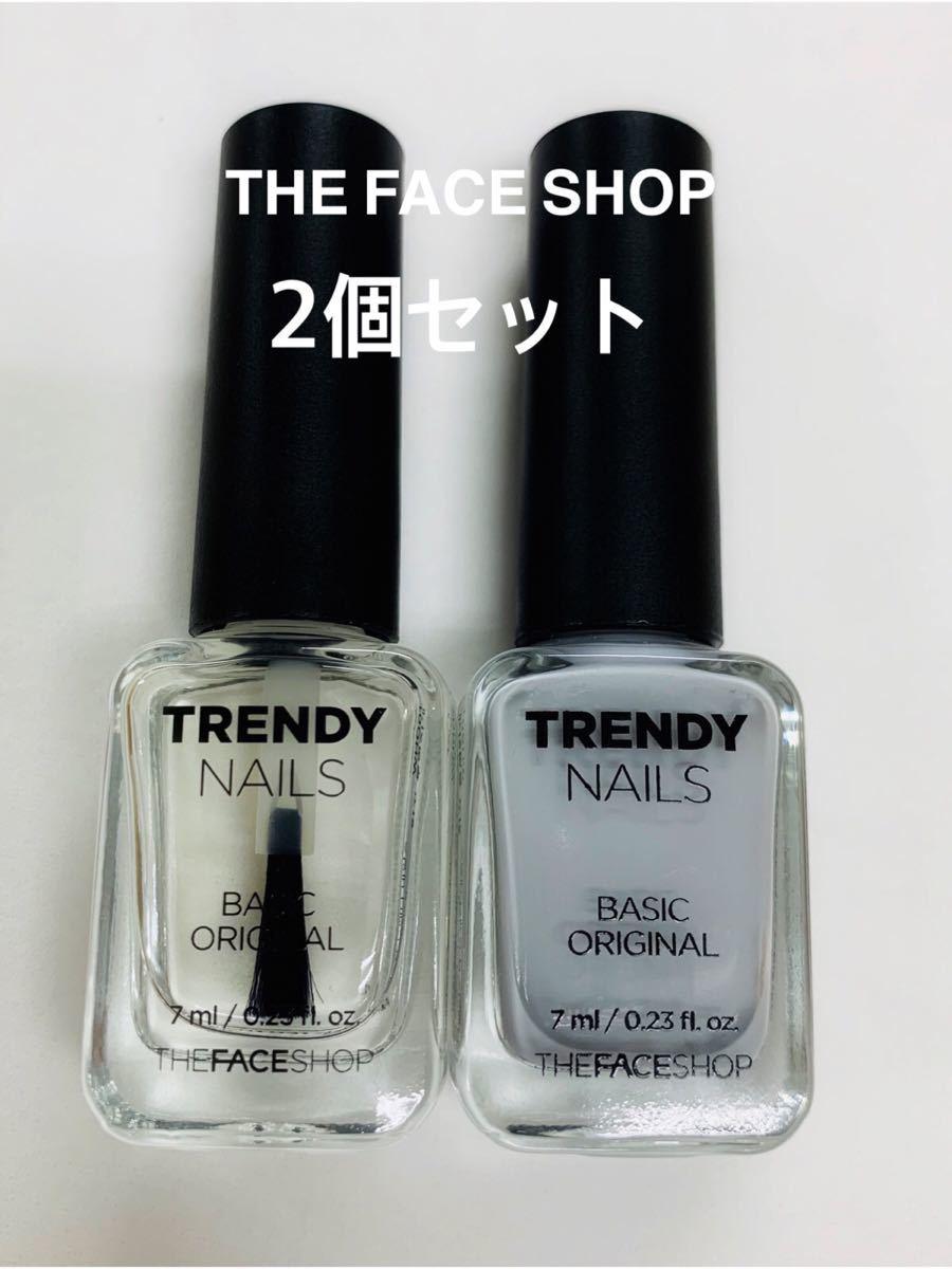 ネイルカラー ネイル THE FACE SHOP 韓国ネイル