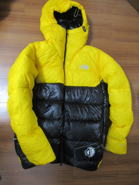新品 M 黄 THE NORTH FACE Summit L6 AW Down Belay Parkas MENS SUMMIT L6 DOWN BELAY PARKA RDS認証済グースダウン ダウンジャケット