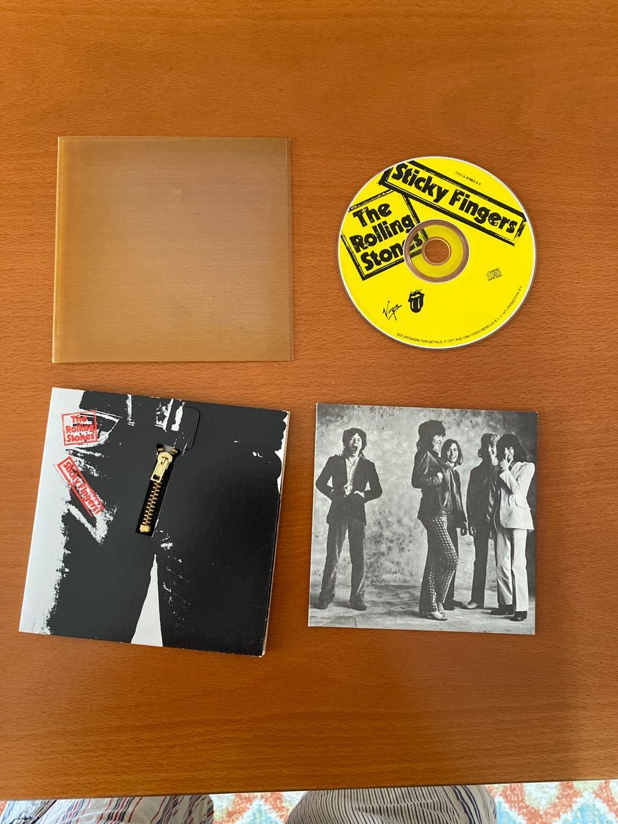 CD The Rolling Stones sticky fingers