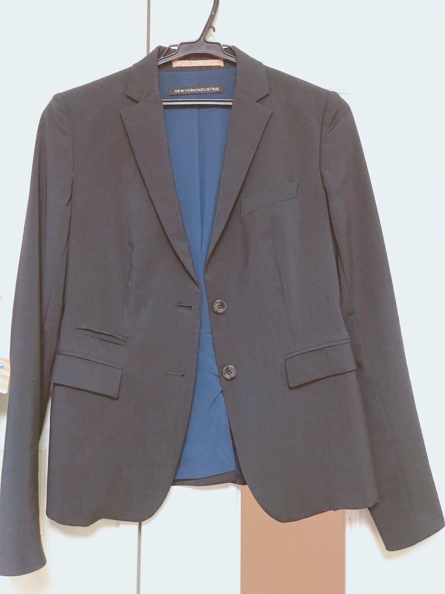 テーラードジャケット ブレザー レディース メンズ ネイビー スーツ ジャケット