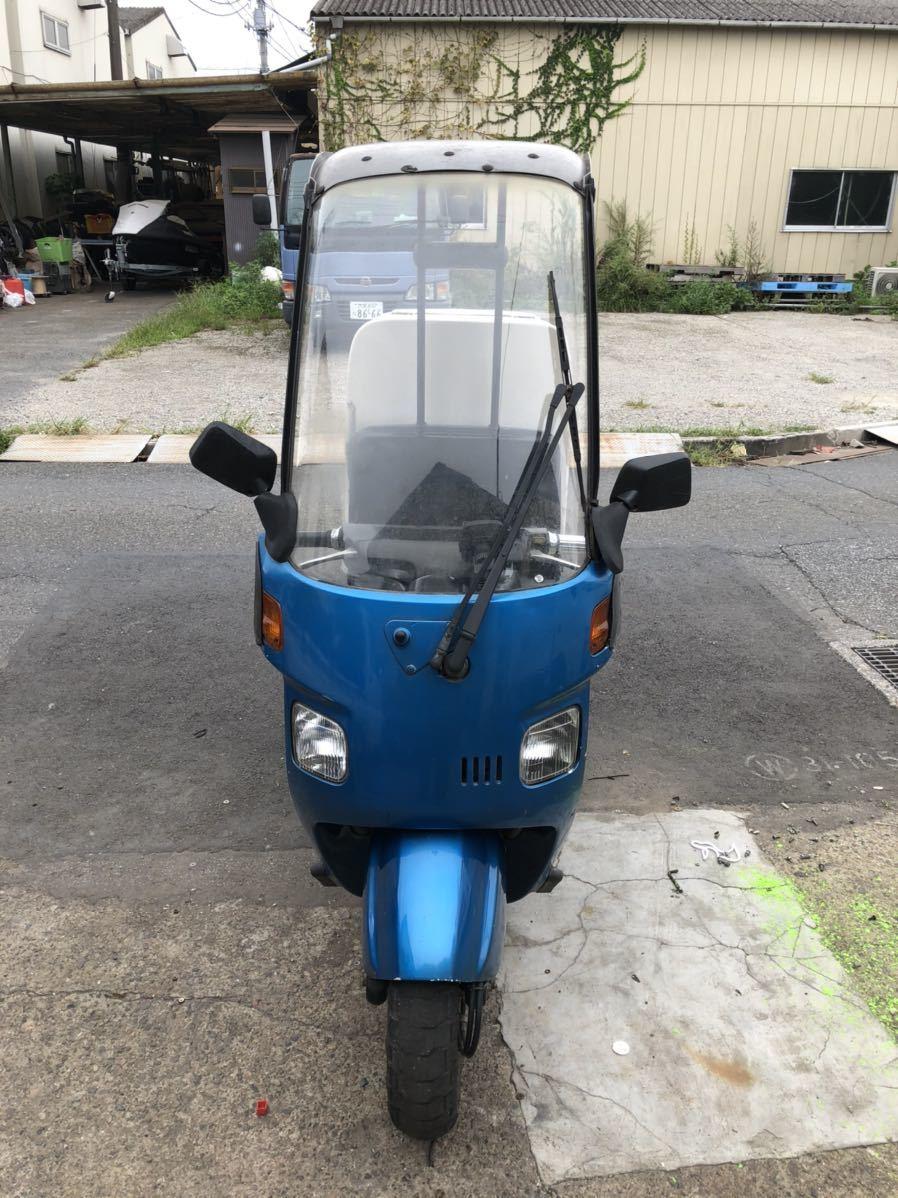「埼玉県川口市発ホンダ ジャイロキャノピー50 50cc TA02 」の画像2