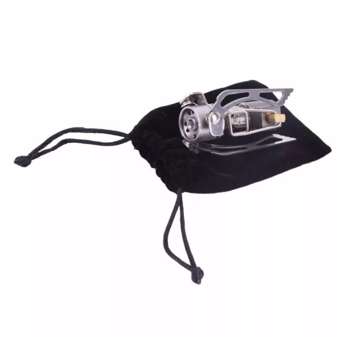 超小型シングルバーナー ミニガスバーナー OD缶対応ポケットコンロ 小型ストーブ
