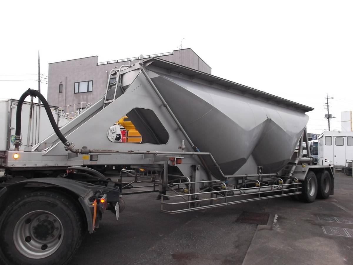 「★H9年10月 日本トレクス 粉粒体運搬 セミトレーラー 2層 22t」の画像2