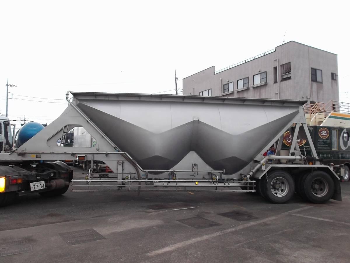 「★H9年10月 日本トレクス 粉粒体運搬 セミトレーラー 2層 22t」の画像3