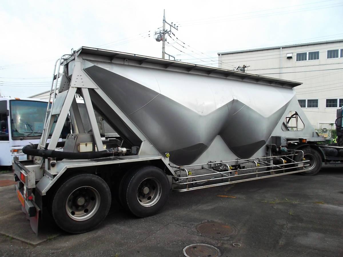 ★H9年10月 日本トレクス 粉粒体運搬 セミトレーラー 2層 22t_画像5