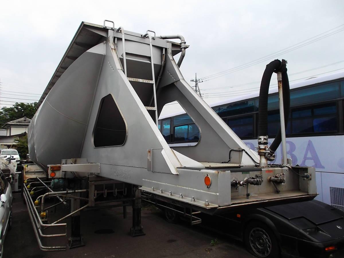 ★H9年10月 日本トレクス 粉粒体運搬 セミトレーラー 2層 22t_画像7