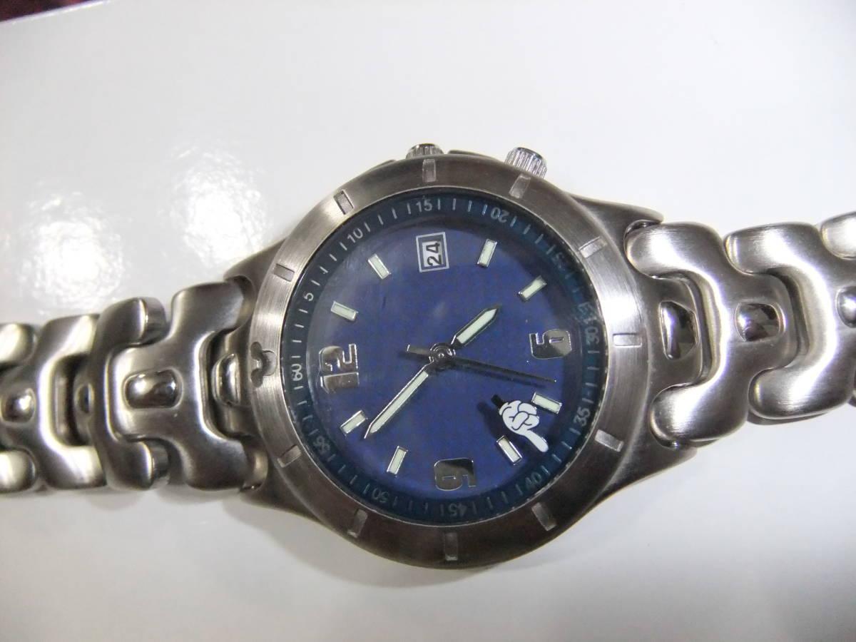 TDL限定腕時計:オメガ風ミッキー_画像1