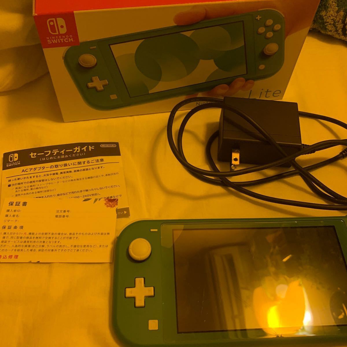 Nintendo Switch Lite  +ダウンロード版(あつ森)