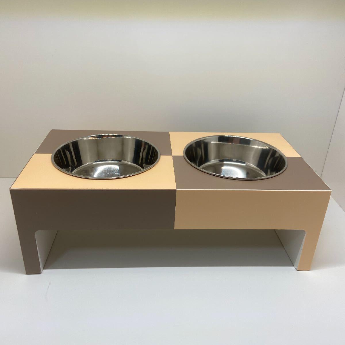 【犬・猫用】エサ入れ・エサ受け・フードテーブル・フードボウル 503