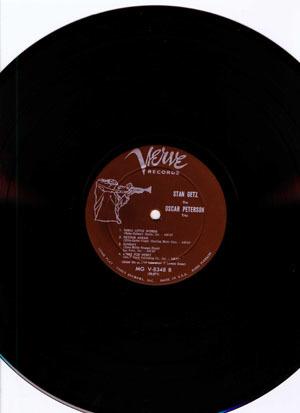 JAZZ RECORD (5260g)【Stan Getz & G.Mulligan_Stan Getz】 Verve 8348/tpt _画像4