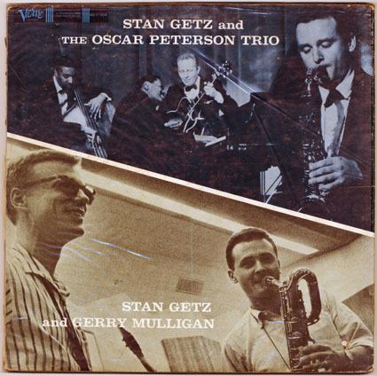 JAZZ RECORD (5260g)【Stan Getz & G.Mulligan_Stan Getz】 Verve 8348/tpt _画像1