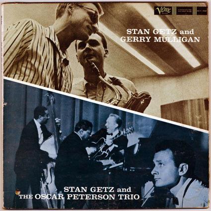 JAZZ RECORD (5260g)【Stan Getz & G.Mulligan_Stan Getz】 Verve 8348/tpt _画像2