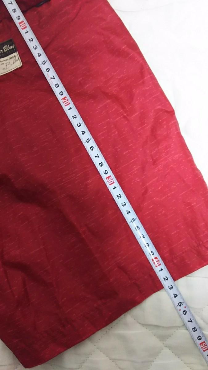 ハーフパンツ ショートパンツ 赤色 レッド メンズレディース Mサイズ