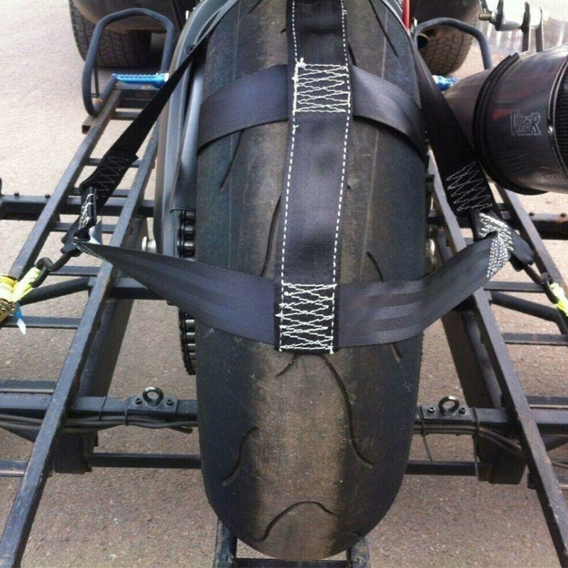 B225 救助レッカーアクセサリータイヤバンドルベルトトレーラーバンドルタイヤホルダータイダウン後輪ストラップ強いポリエステルウェ