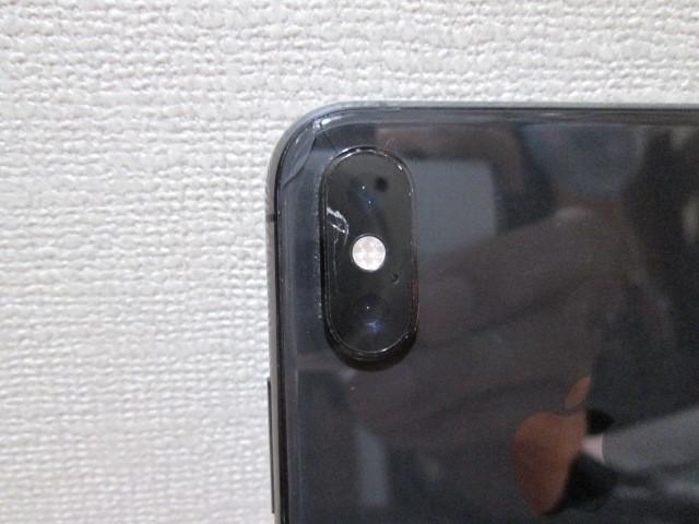 ☆softbank iphoneXs 256GB MTE02J/A 起動確認済・ジャンク☆_画像3