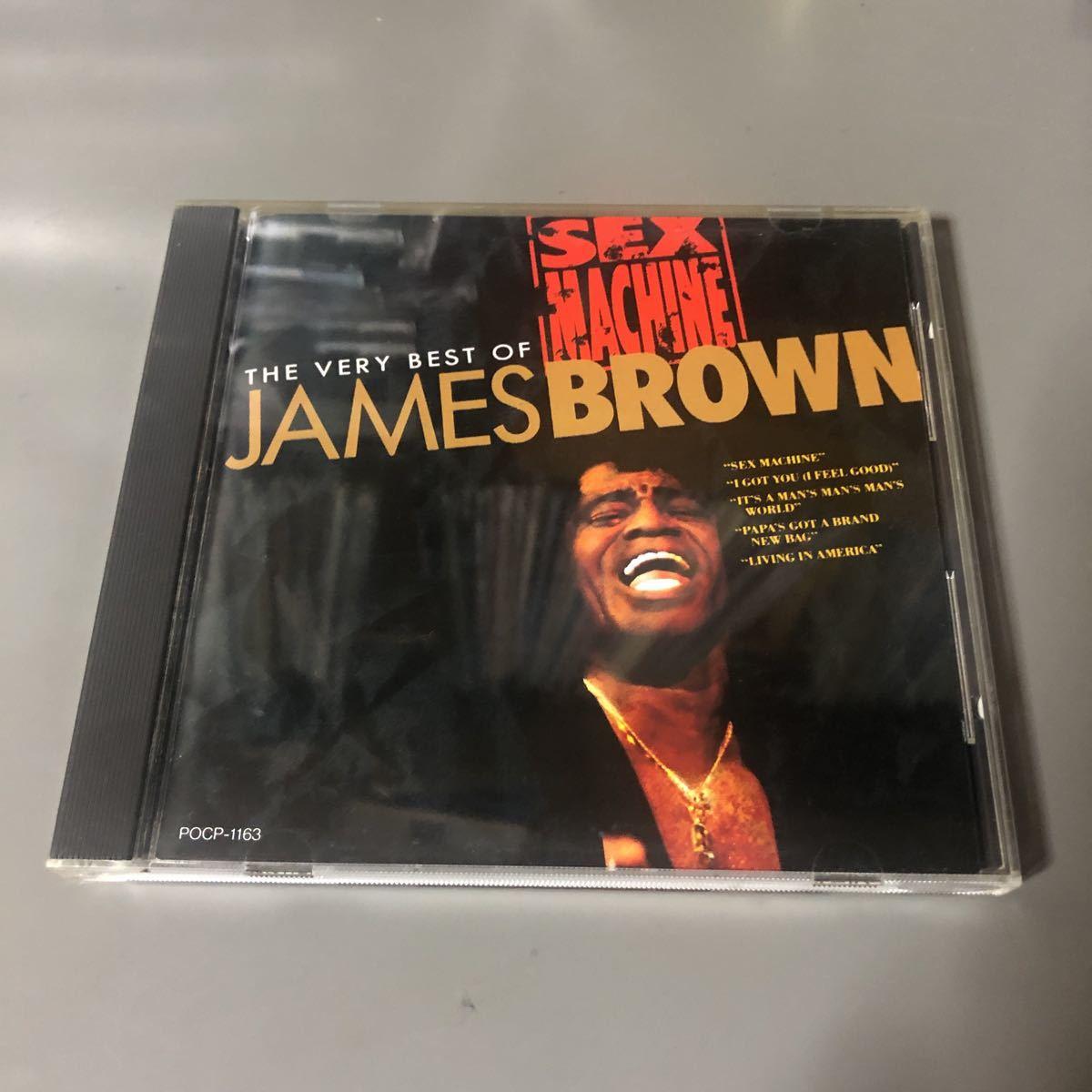 ジェームス・ブラウン セックス・マシーン ベリー・ベスト・オブ 国内盤CD
