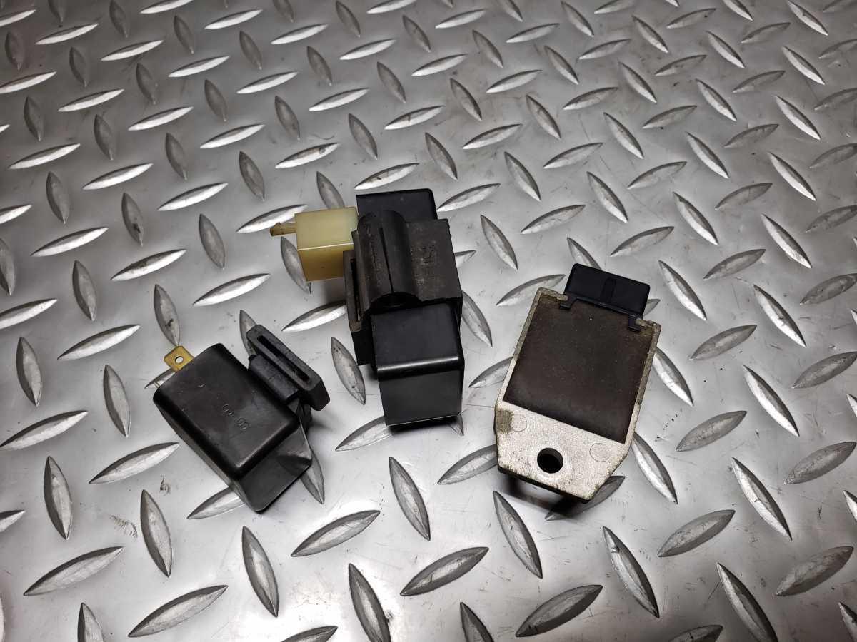 994 ベンリィ CD90 12V HA03-1103… CDI イグニッションコイル ウインカーリレー レギュレーター ホンダ_画像6