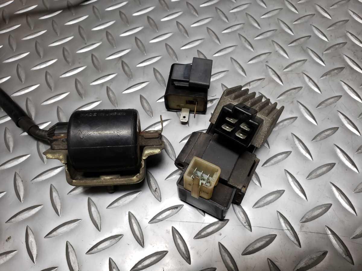 994 ベンリィ CD90 12V HA03-1103… CDI イグニッションコイル ウインカーリレー レギュレーター ホンダ_画像5