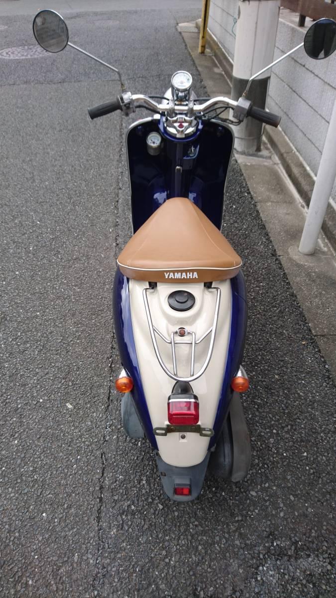 「西東京発!SA10J ヤマハ ビーノ 2ST 外装新品! 黄ナンバー登録」の画像2