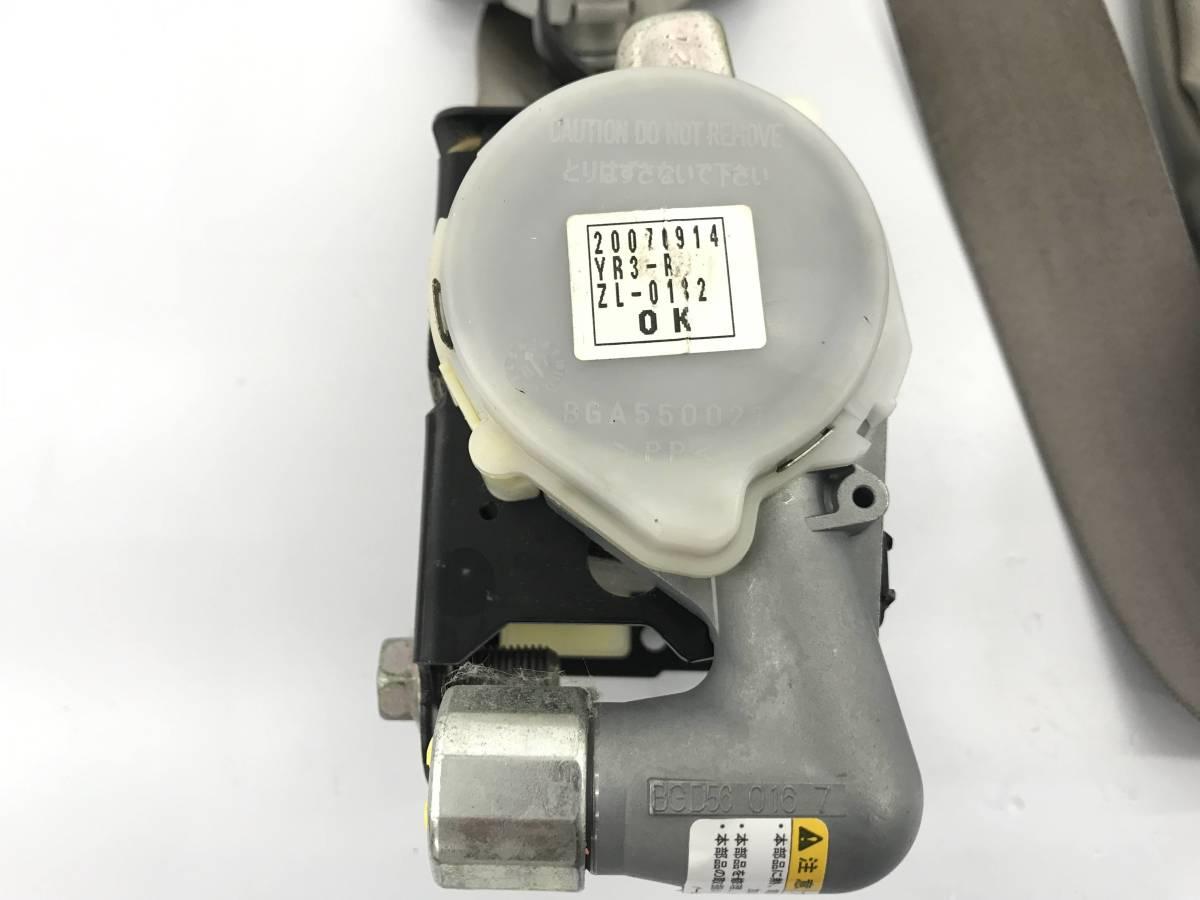 _b38135 ニッサン モコ S DBA-MG22S シートベルト フロント 右 運転席 F/RH C05 84920-58J1 スズキ MRワゴン MF22S_画像6