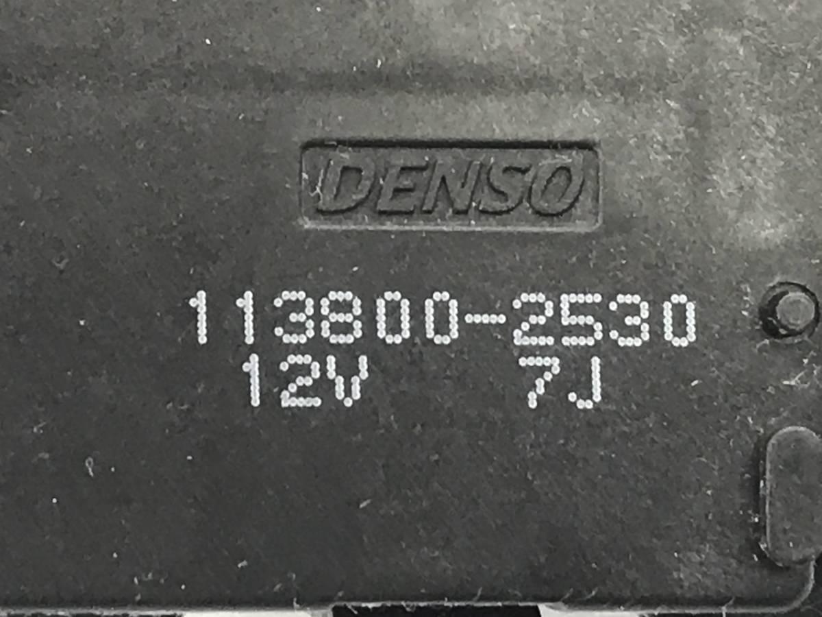 _b38135 ニッサン モコ S DBA-MG22S エアコンサーボ モーター 113800-2530 スズキ MRワゴン MF22S_画像4