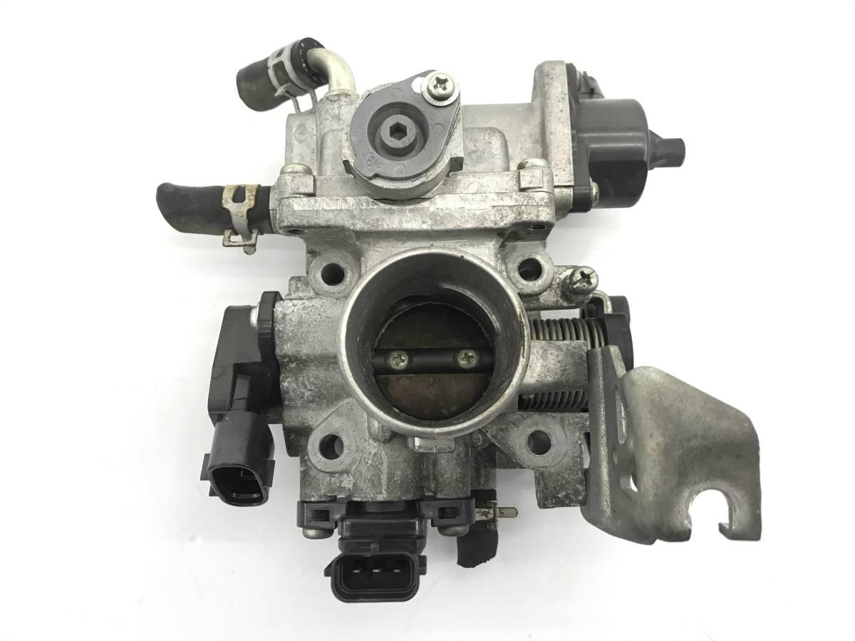 _b38135 ニッサン モコ S DBA-MG22S スロットルボディ センサー付き K6A スズキ MRワゴン MF22S_画像1