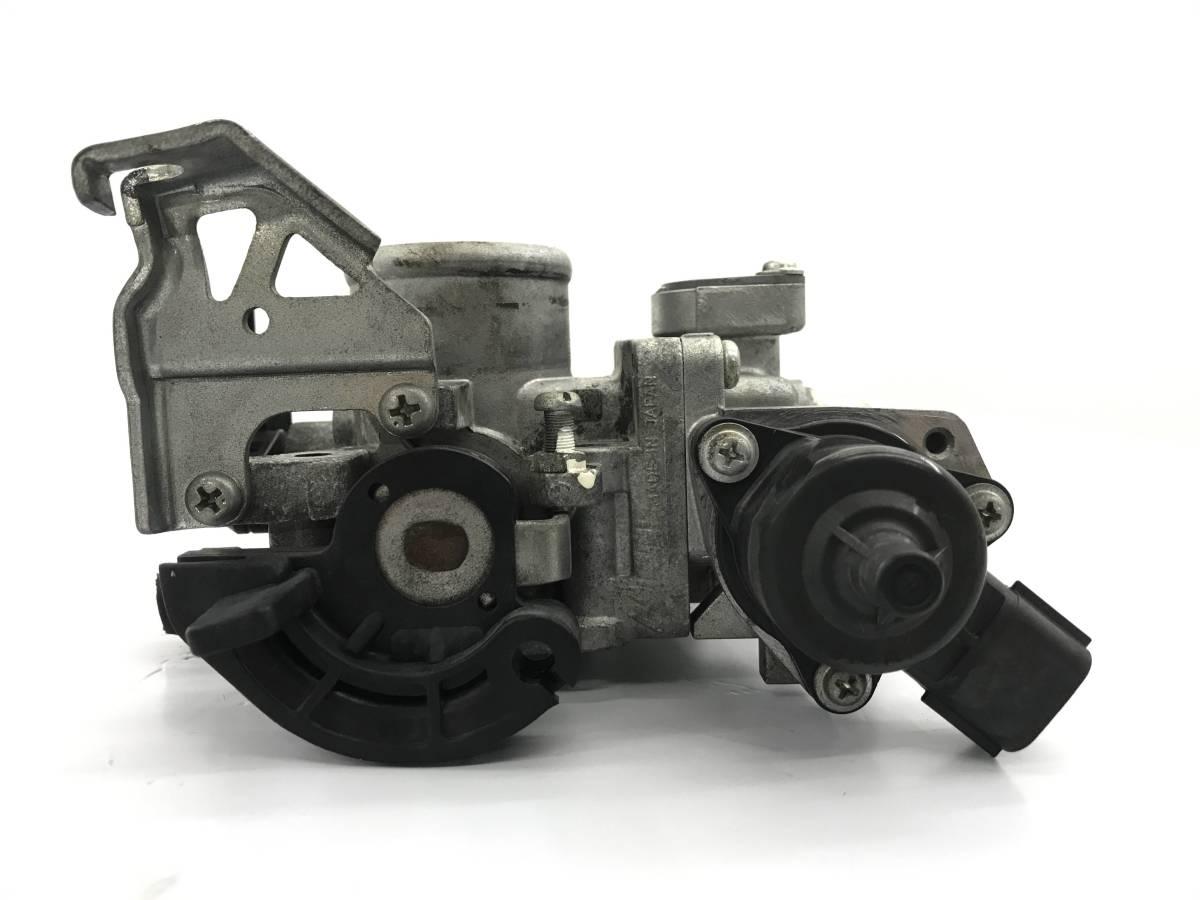 _b38135 ニッサン モコ S DBA-MG22S スロットルボディ センサー付き K6A スズキ MRワゴン MF22S_画像7