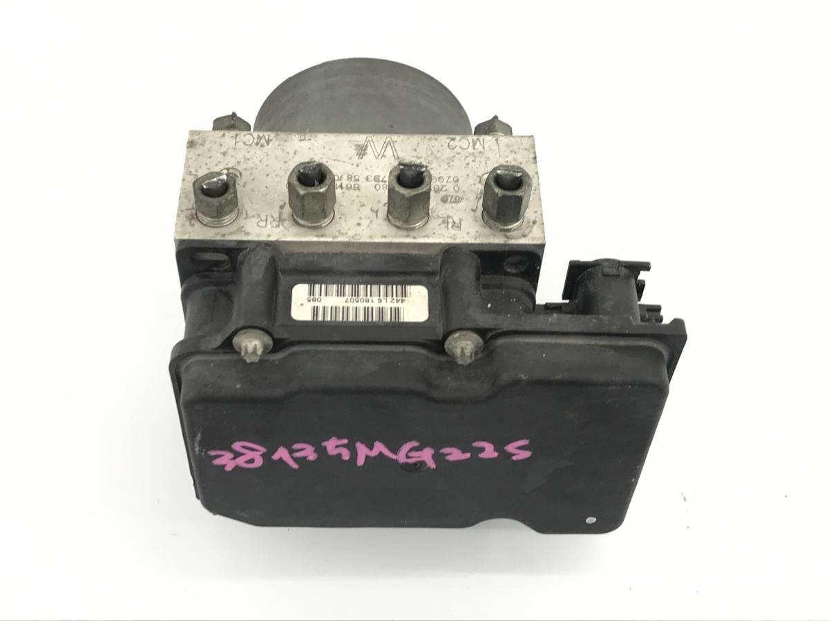 _b38135 ニッサン モコ S DBA-MG22S ABSアクチュエーター ユニット 56110-58J00 スズキ MRワゴン MF22S_画像1