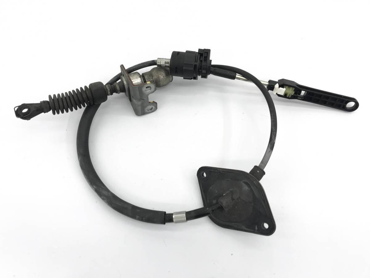 _b38135 ニッサン モコ S DBA-MG22S シフトワイヤー ケーブル リンケージ スズキ MRワゴン MF22S_画像1